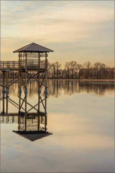 Turm im Wasser 2