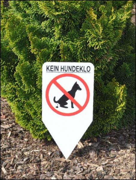 Einstecker - kein Hundeklo