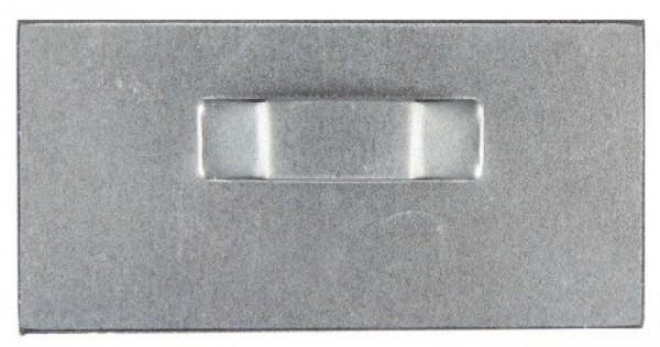Spiegelblech - Aufhängeblech selbstklebend 8x4cm
