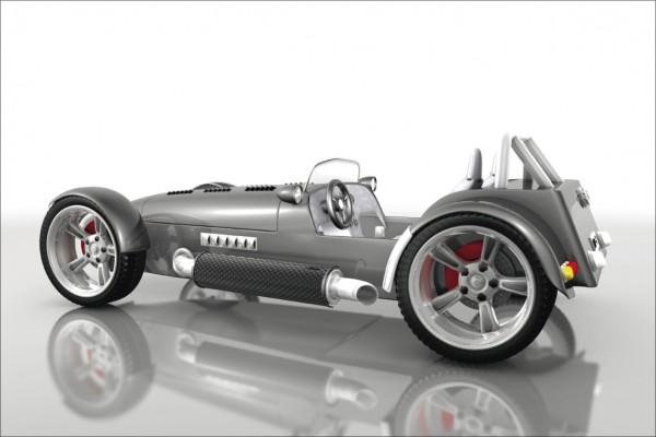 Sportwagen Lotus seven