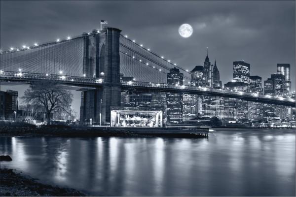 New York bei Nacht 1