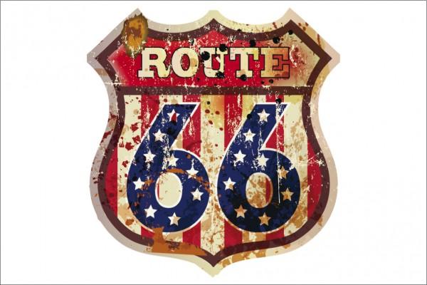 Route 66 Wappen