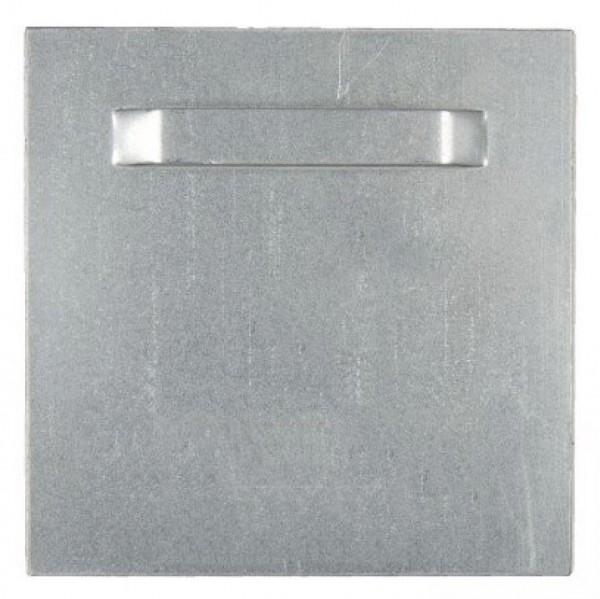 Spiegelblech - Aufhängeblech selbstklebend 10x10cm