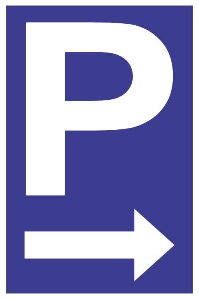 """Parkplatz """"Pfeil rechts"""""""