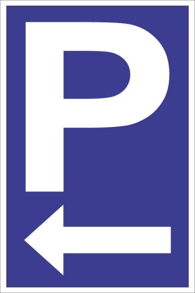 """Parkplatz """"Pfeil links"""""""